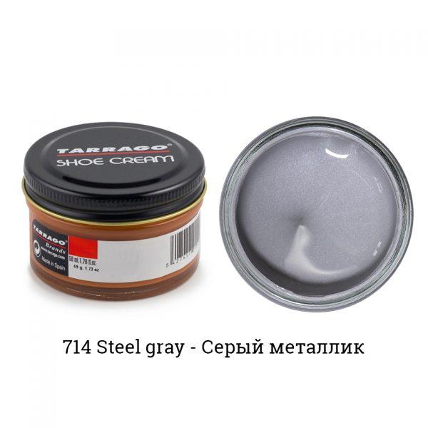 Крем Tarrago SHOE Cream 50мл. (steel gray)