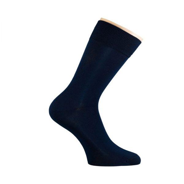 Носки мужские Saphir, черный, хлопок+нейлон комфорт р.42/43