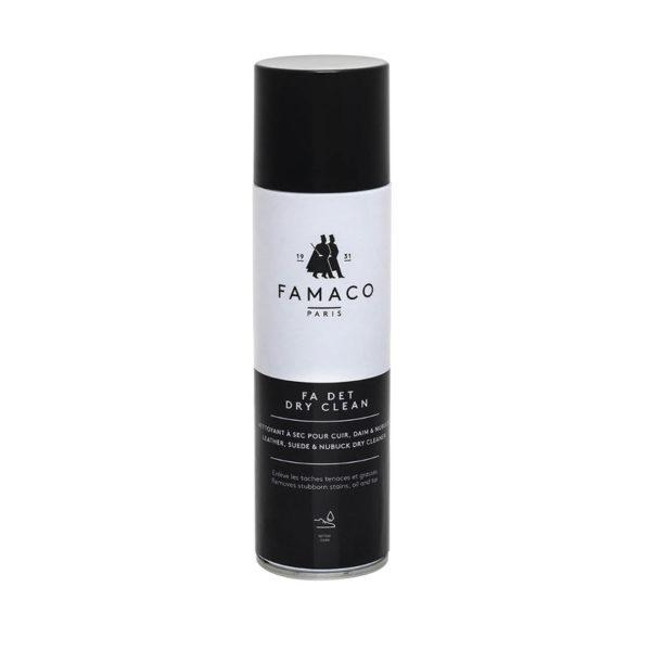 Спрей-очиститель для сухой чистки замши и нубука, FAMACO, 250 мл