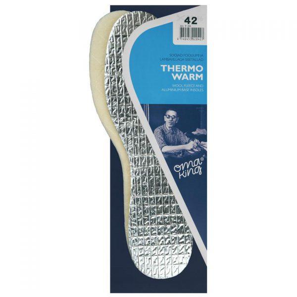 Стелька ARCTIC THERMO, OmaKing термоизоляционная на алюминии, 38-39