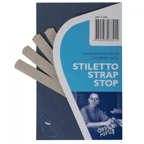 Наклейка под ремешок STILETTO STRAP STOP, OmaKing, велюр, универсальный размер