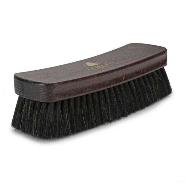 Щетка Famaco BROSSE LUXE CRIN CHEVAL NOIRS 21 см, темный конский ворс