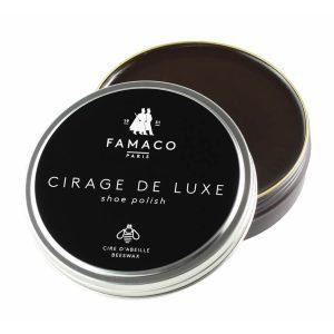 Воск для обуви темно-коричневый, FAMACO BOITE DE CIRAGE, 100 мл
