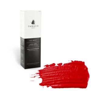 Крем-воск для обуви FAMACO, насыщенный красный 363, 75 мл