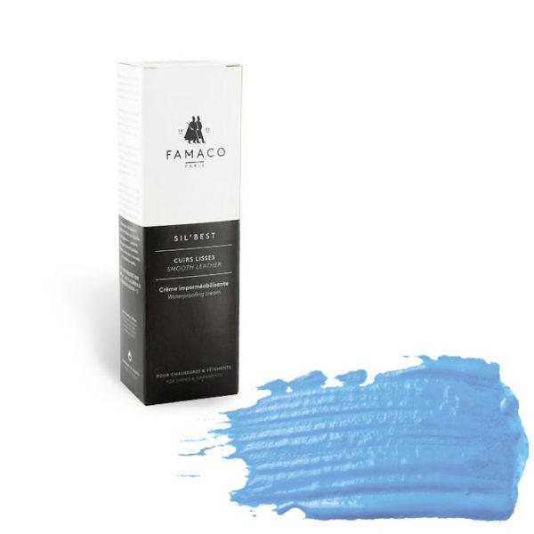 Крем-воск для гладкой кожи FAMACO, светло-голубой 352, 75 мл