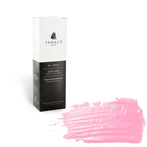 Крем-воск для обуви FAMACO, светло-розовый 350, 75 мл