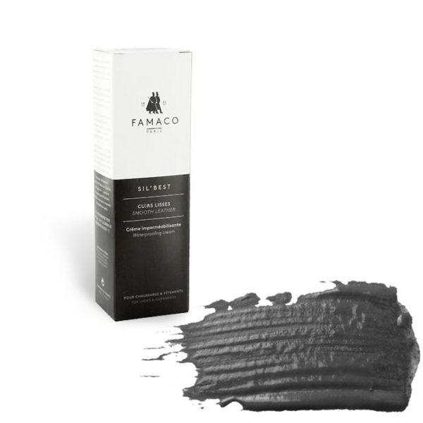 Крем-воск для обуви FAMACO, темно-серый 309, 75 мл