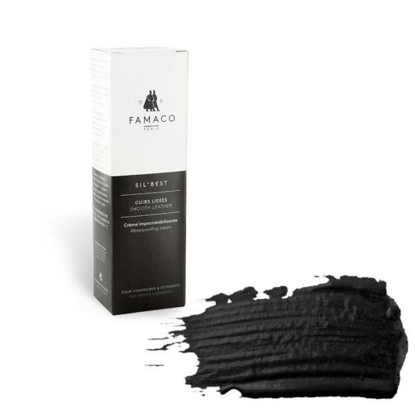 Крем-воск для обуви FAMACO, черный 300, 75 мл