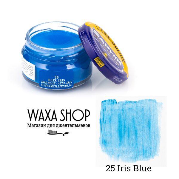 Крем для обуви Saphir Surfine, 50мл. (iris blue)