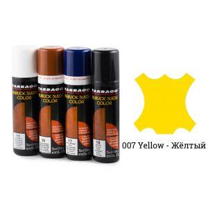 Краситель для замши и нубука, Tarrago NUBUCK COLOR, 75мл. (желтый)