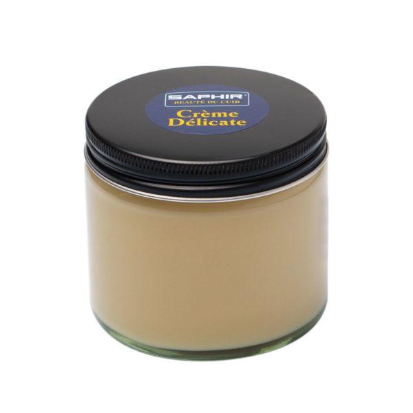 Крем для деликатных кож Saphir Delicate, 250 мл. (бесцветный)