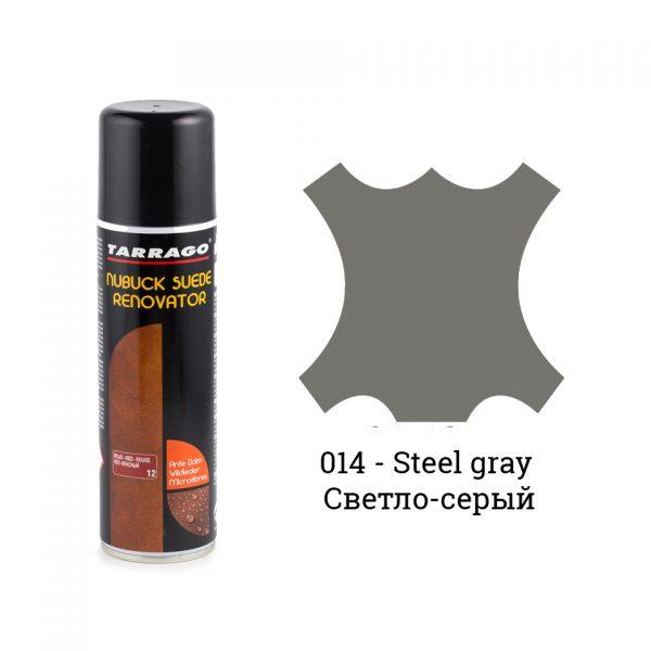 Восстановитель замши и нубука Tarrago Nubuck Renovator, 250мл. (steel gray)