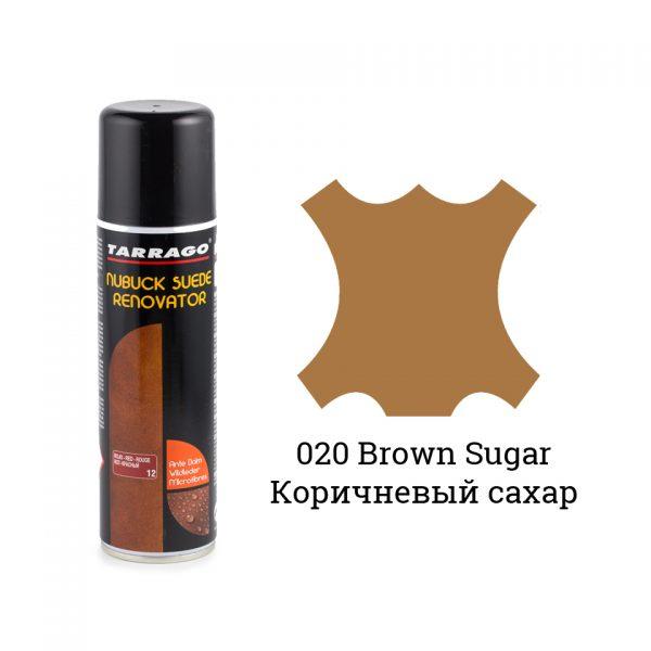 Восстановитель замши и нубука Tarrago Nubuck Renovator, 250мл. (brown sugar)