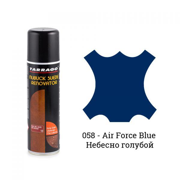 Восстановитель замши и нубука Tarrago Nubuck Renovator, 250мл. (air force blue)