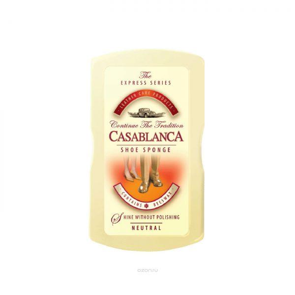 Губка Casablanca МАЛАЯ SHOE SPONGE-SMALL, бесцветный