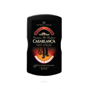 Губка Casablanca МАЛАЯ SHOE SPONGE-SMALL черный
