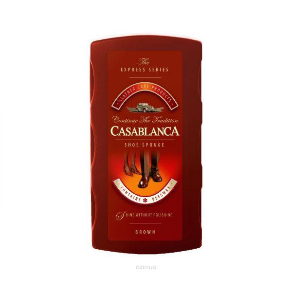 Губка большая Casablanca SHOE SPONGE-BIG, коричневый