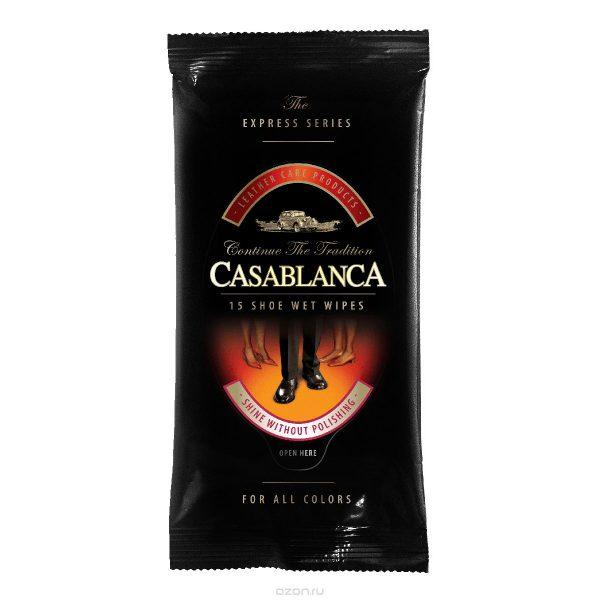 Влажные салфетки Casablanca SHOE WET WIPES