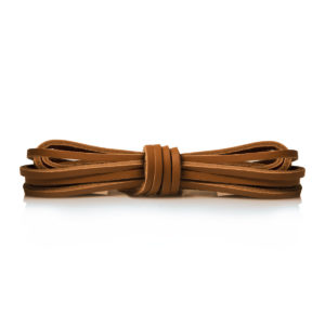 Кожаные шнурки Saphir 120см. (39/700 натуральный)