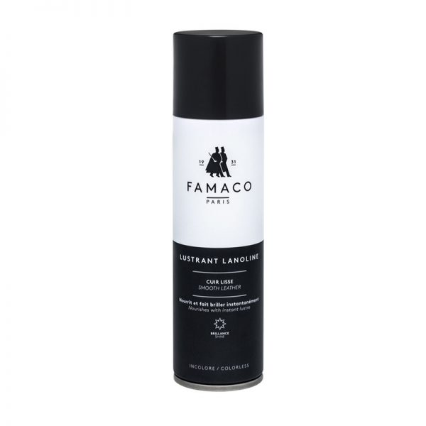 Спрей-блеск с ланолином, FAMACO, бесцветный, 250 мл
