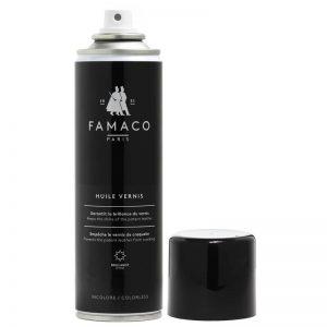 Спрей-полироль для лакированной кожи, FAMACO, бесцветный, 250 мл