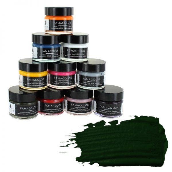 Жидкая кожа FAMACO, VERT THUYA, темно-зеленая, 304, 15 мл