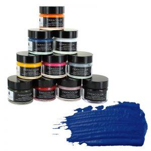 Жидкая кожа FAMACO, темно-синяя 317, 15 мл