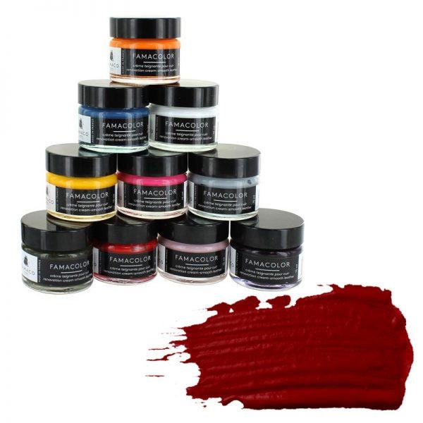 Жидкая кожа FAMACO, RUBIS, темно-красная 319, 15 мл