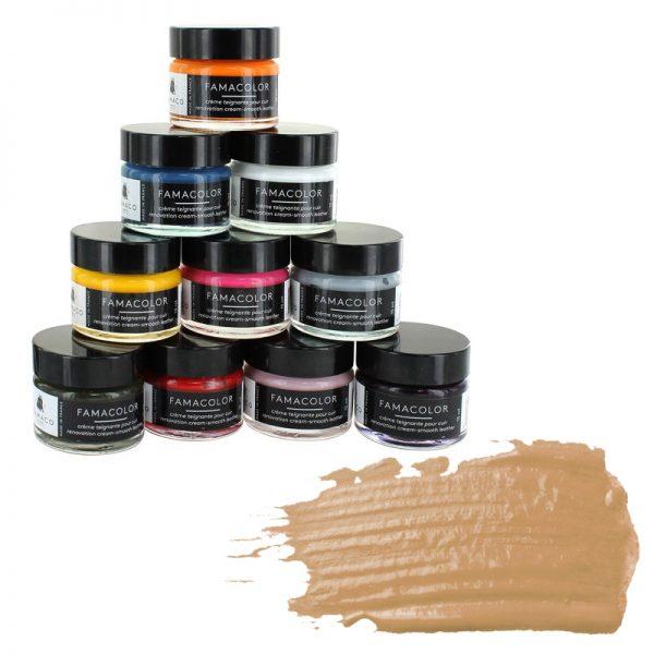 Жидкая кожа FAMACO, SABLE, песочная 326, 15 мл