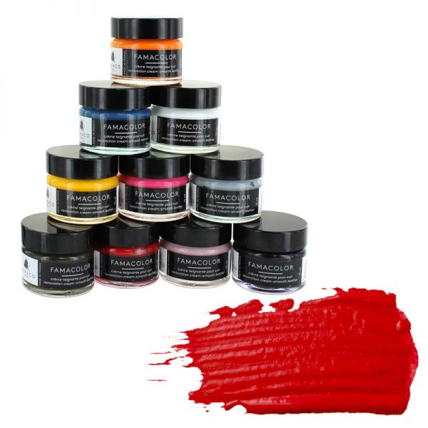 Жидкая кожа FAMACO, ROUGE VIF, ярко-красная 327, 15 мл