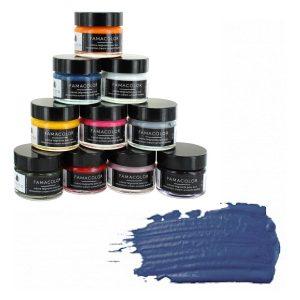 Жидкая кожа FAMACO, LAVANDE, синяя 358, 15 мл