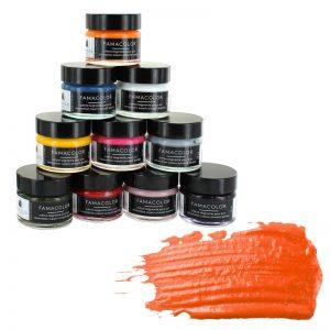 Жидкая кожа FAMACO, ORANGE, оранжевая 361, 15 мл