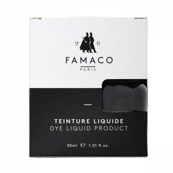 Укрывная краска для кожи, FAMACO, черный, 30 мл