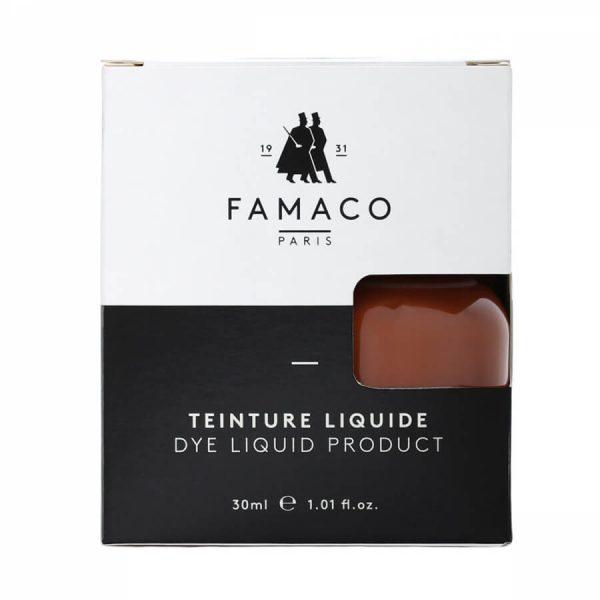 Укрывная краска для кожи, FAMACO, коричневый, 30 мл