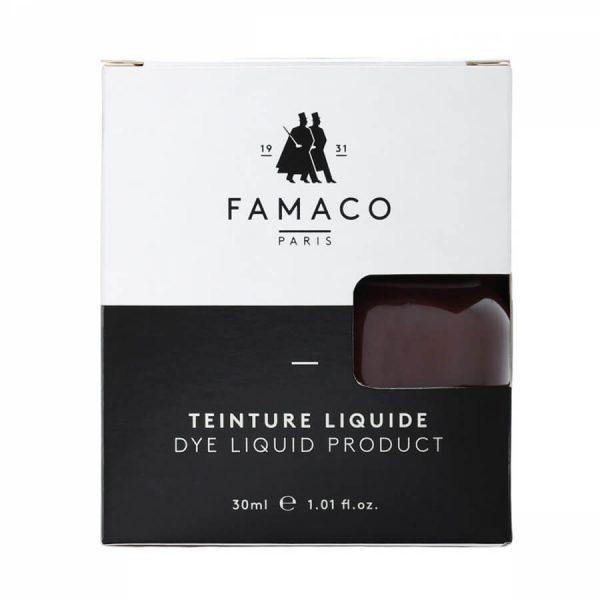 Укрывная краска для кожи, FAMACO, темно-коричневый, 30 мл