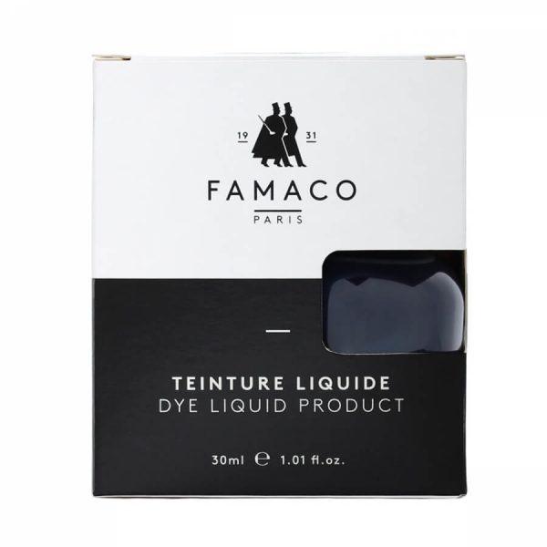 Укрывная краска для кожи, FAMACO, синий, 30 мл
