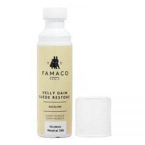 Краска для замши и нубука, FAMACO, коричневая, 75 мл
