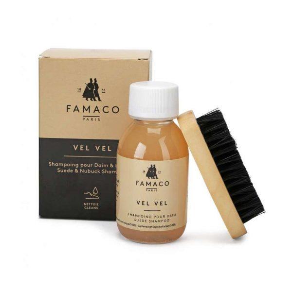 Шампунь для очистки замши и нубука, FAMACO, 500 мл