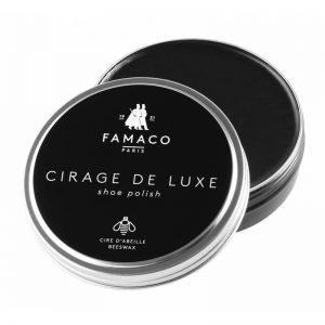 Воск для обуви черный, FAMACO BOITE DE CIRAGE, 100 мл