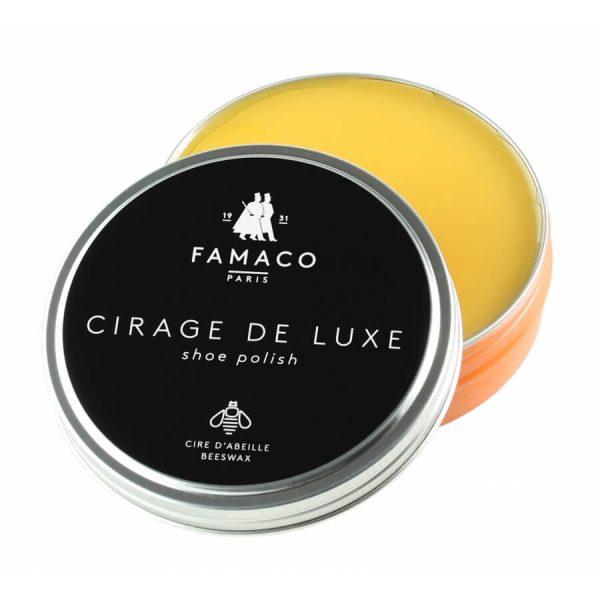 Воск для обуви желтый, FAMACO BOITE DE CIRAGE, 100 мл