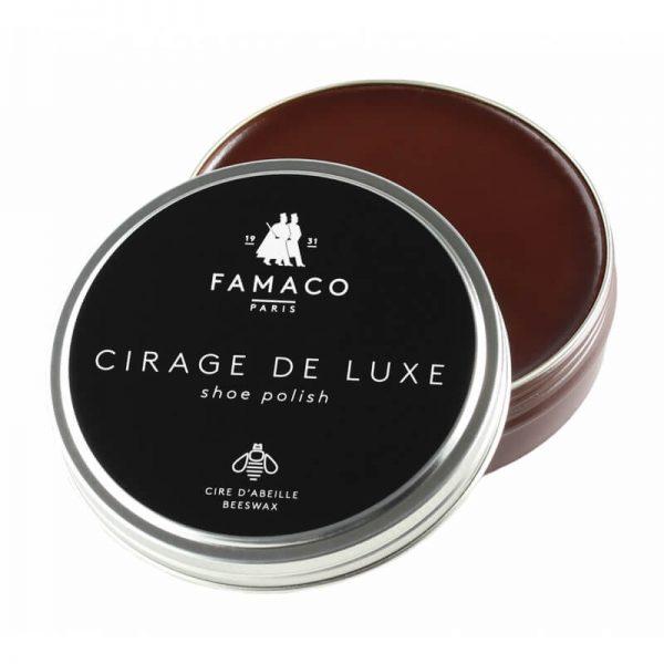Воск для обуви коричневый, FAMACO BOITE DE CIRAGE, 50 мл
