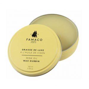 Жир для обуви с маслом норки, FAMACO, бесцветный, 100 мл