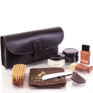 Набор обувной косметики, кожа, черный (картридж)