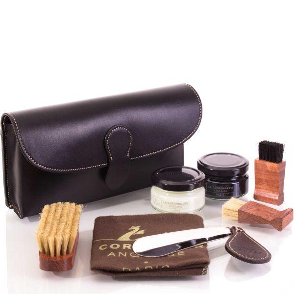 Набор обувной косметики La Cordonnerie Anglaise, кожа, трюфель (картридж)