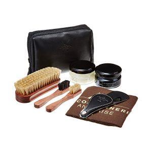 Набор обувной косметики La Cordonnerie Anglaise, кожа, коричневый