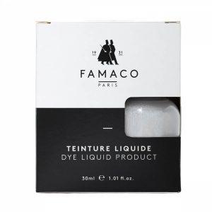 Укрывная краска для кожи, FAMACO, серебрянный, 30 мл