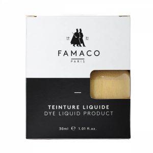 Укрывная краска для кожи, FAMACO, золотой, 30 мл