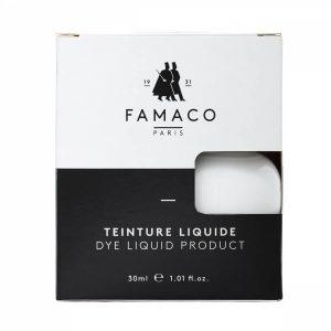 Укрывная краска для кожи, FAMACO, белый, 30 мл