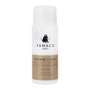 Краска для подошвы, Famaco SOLE EDGE COLOR, темно-коричневая, 50 мл