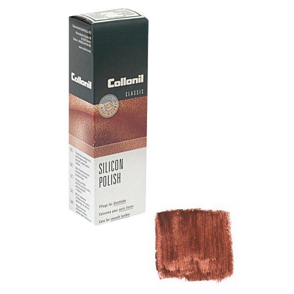 Крем Collonil Silicon Polish коричневый